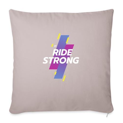 Ride Strong - Copricuscino per divano, 45 x 45 cm