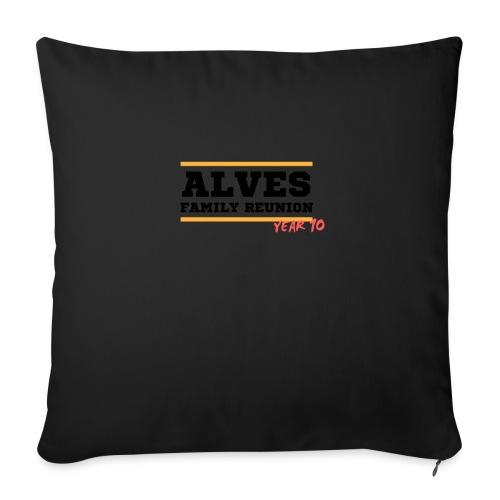 Alves - Copricuscino per divano, 45 x 45 cm
