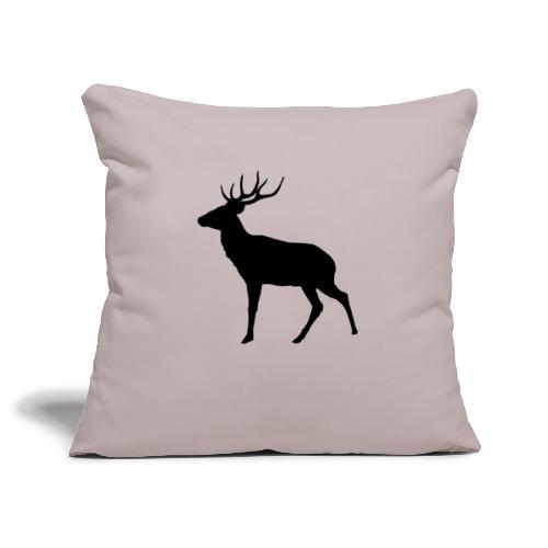 cervo - Copricuscino per divano, 45 x 45 cm
