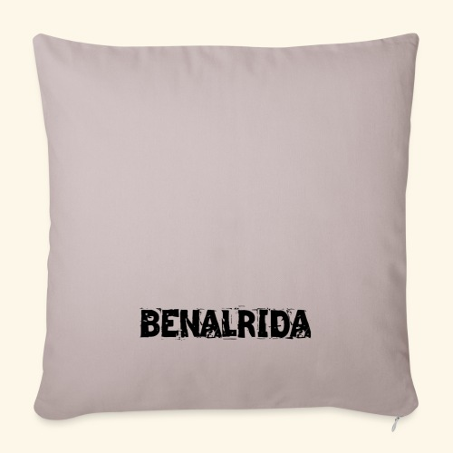 BenalRida HD black png - Funda de cojín, 45 x 45 cm