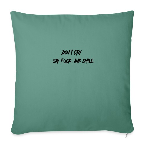 Dont cry - Sohvatyynyn päällinen 45 x 45 cm