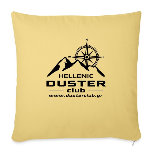 DUSTER TELIKO bw2 - Sofa pillowcase 17,3'' x 17,3'' (45 x 45 cm)