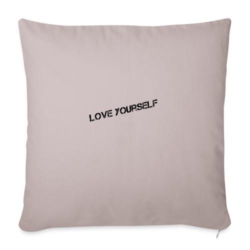 Love yourself - Sohvatyynyn päällinen 45 x 45 cm