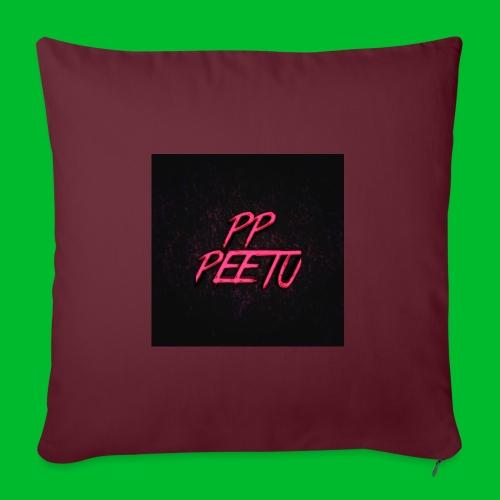 Ppppeetu logo - Sohvatyynyn päällinen 45 x 45 cm