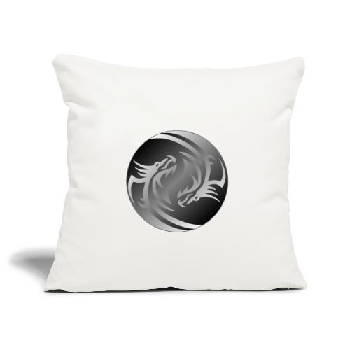 Yin Yang Dragon - Sofa pillowcase 17,3'' x 17,3'' (45 x 45 cm)