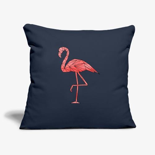 Flamingo Geometrisch - Sofakissenbezug 44 x 44 cm