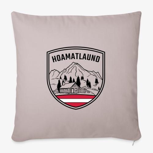 Hoamatlaund logo - Sofakissenbezug 44 x 44 cm
