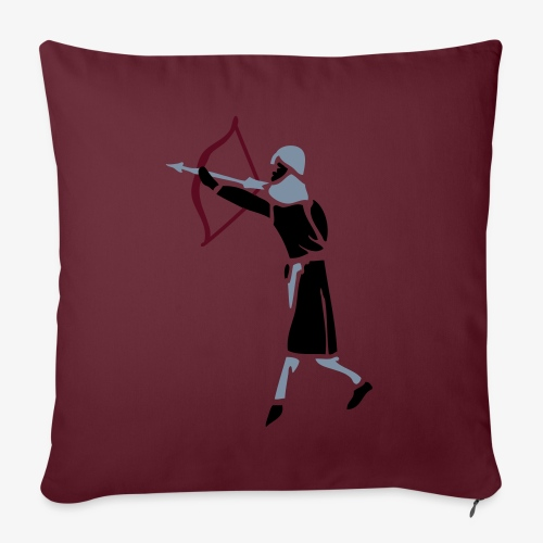 Archer Medieval Icon patjila design - Sofa pillowcase 17,3'' x 17,3'' (45 x 45 cm)