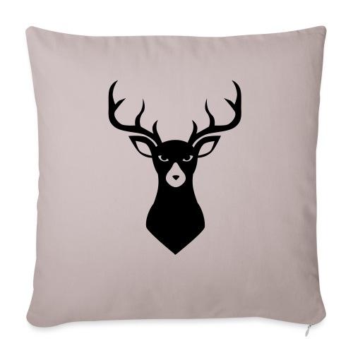 Caribou 9 - Housse de coussin décorative 45x 45cm