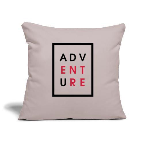 Enter Adventure - Sofa pillowcase 17,3'' x 17,3'' (45 x 45 cm)