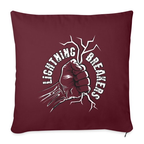 Lightning Breakers - print textiles and Gifts - Sohvatyynyn päällinen 45 x 45 cm