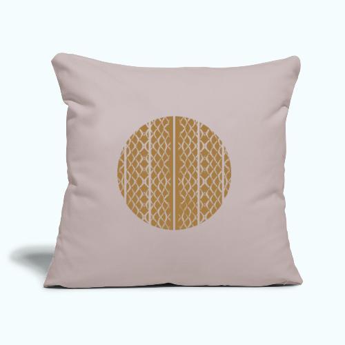 Geometric mermaid shed - Sofa pillowcase 17,3'' x 17,3'' (45 x 45 cm)