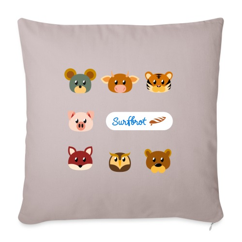 Surfbrot Serie 1 - Sofa pillowcase 17,3'' x 17,3'' (45 x 45 cm)