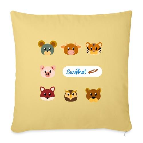 Surfbrot Serie 1 - Sofa pillowcase 17,3'' x 17,3'' (45 x 45 cm)