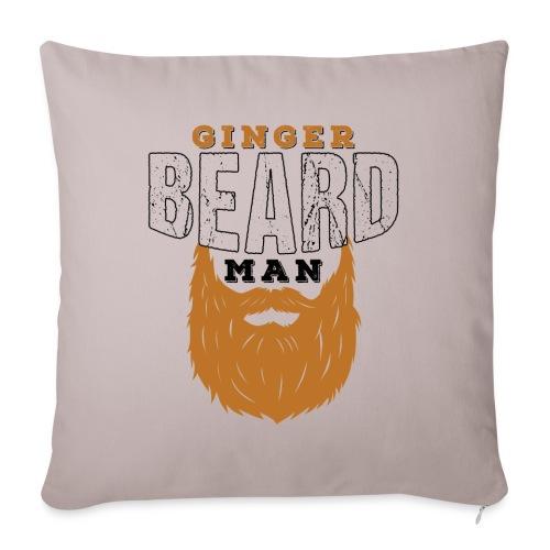 Beard Ginger Beard Man Redhead Gifts For Men - Sofakissenbezug 44 x 44 cm