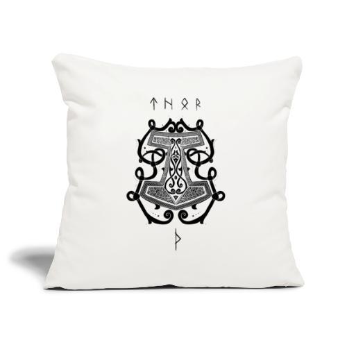 Mjöllnir - Housse de coussin décorative 45x 45cm