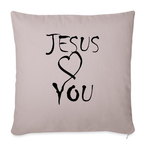 jesus loves you - Sofakissenbezug 44 x 44 cm