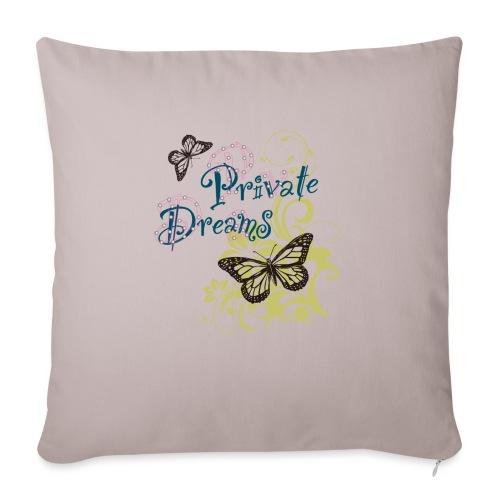 Free butterfly - Sofa pillowcase 17,3'' x 17,3'' (45 x 45 cm)
