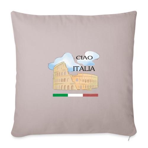 hello italy T-Shirts - Sofa pillowcase 17,3'' x 17,3'' (45 x 45 cm)