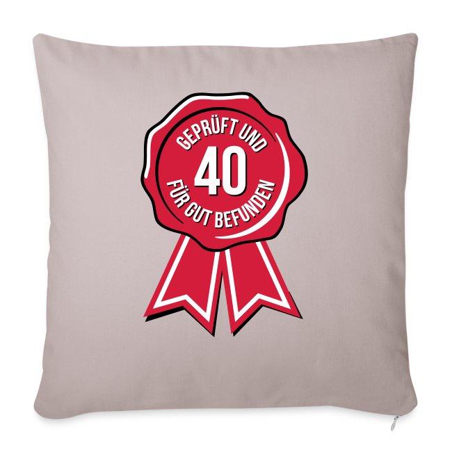 40 und für gut befunden - 40. Geburtstag