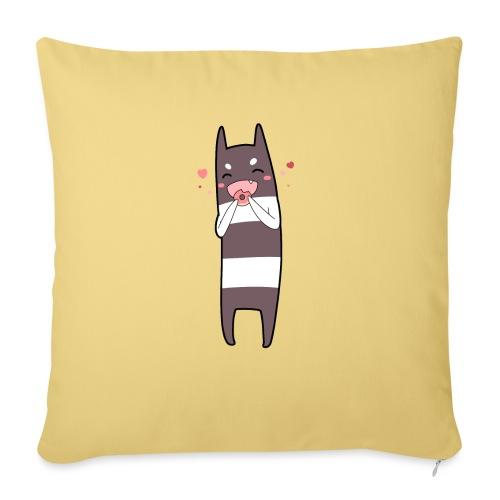 Donut Monster - Sofa pillowcase 17,3'' x 17,3'' (45 x 45 cm)