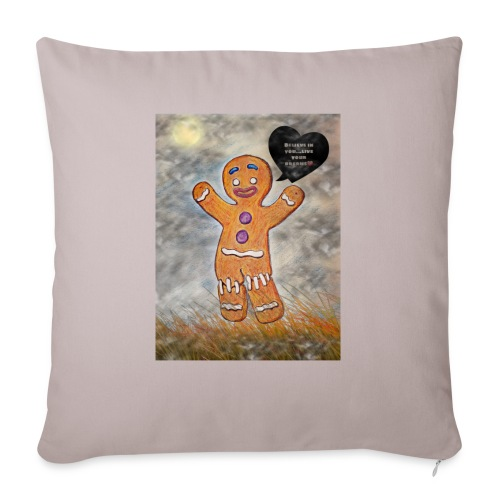 Petit biscuit pour veiller sur vos enfants ☺ - Housse de coussin décorative 45x 45cm