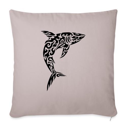 Tribal shark - Copricuscino per divano, 45 x 45 cm