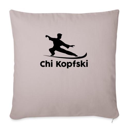 chi kopfski - Sofakissenbezug 44 x 44 cm