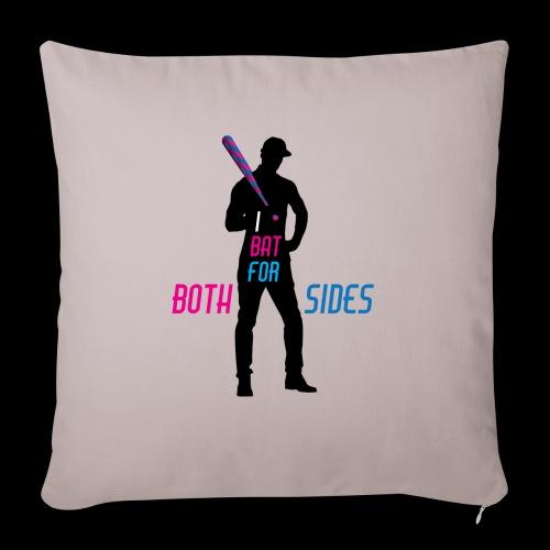 I bat for both sides male - Sofa pillowcase 17,3'' x 17,3'' (45 x 45 cm)