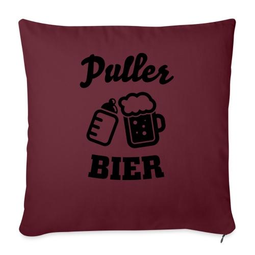 Puller Bier - Sofakissenbezug 44 x 44 cm
