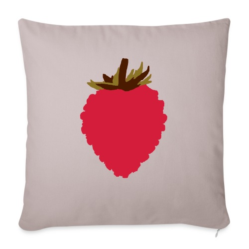 Wild Strawberry - Sofa pillowcase 17,3'' x 17,3'' (45 x 45 cm)