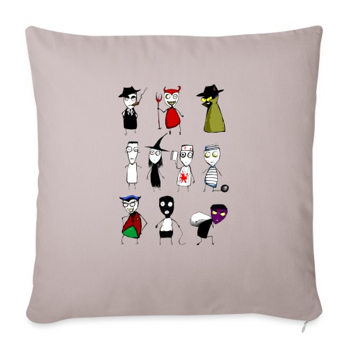 Bad to the bone - Sofa pillowcase 17,3'' x 17,3'' (45 x 45 cm)