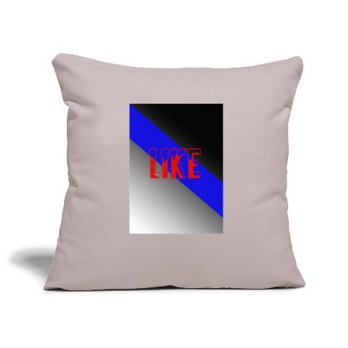 like - Housse de coussin décorative 45x 45cm