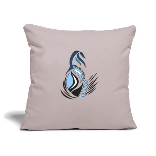 disegno bocciolo astratto - Copricuscino per divano, 45 x 45 cm