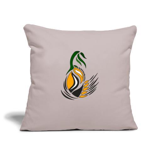 disegno decorativo bocciolo - Copricuscino per divano, 45 x 45 cm