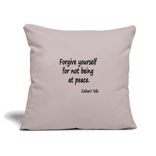 Forgive Yourself - Sofa pillowcase 17,3'' x 17,3'' (45 x 45 cm)