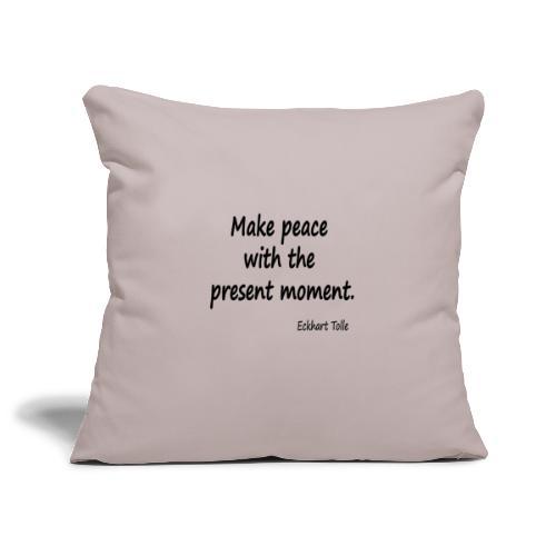 Make Peace - Sofa pillowcase 17,3'' x 17,3'' (45 x 45 cm)