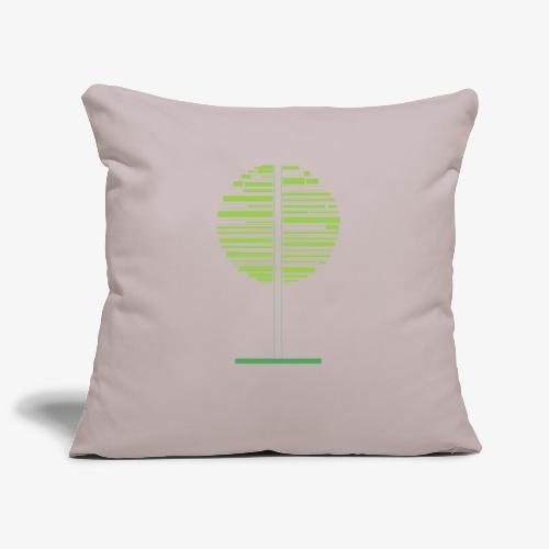 Albero verde - Copricuscino per divano, 45 x 45 cm