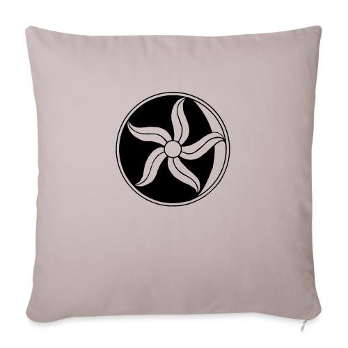 Moon Flower - Sofa pillowcase 17,3'' x 17,3'' (45 x 45 cm)