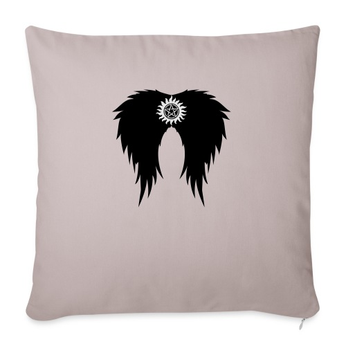 Supernatural wings (vector) Hoodies & Sweatshirts - Sofa pillowcase 17,3'' x 17,3'' (45 x 45 cm)