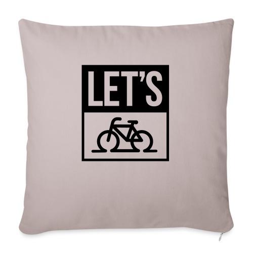 fiets - Sierkussenhoes, 45 x 45 cm