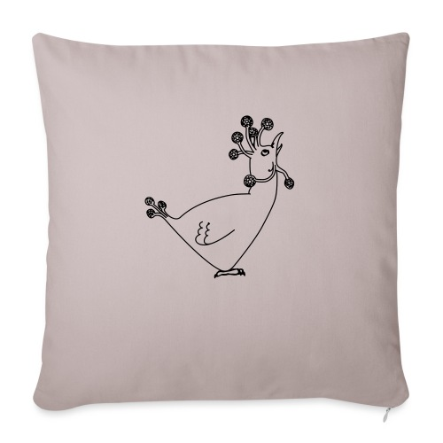 Cosmic Chicken - Sofa pillowcase 17,3'' x 17,3'' (45 x 45 cm)