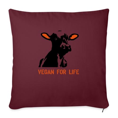 colorida vegan for life - Sofakissenbezug 44 x 44 cm
