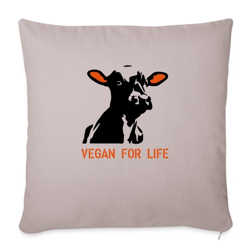 colorida vegan for life - Sofakissenbezug 44 x 44 cm