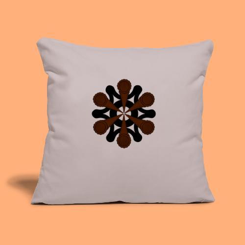 vortex - Housse de coussin décorative 45x 45cm