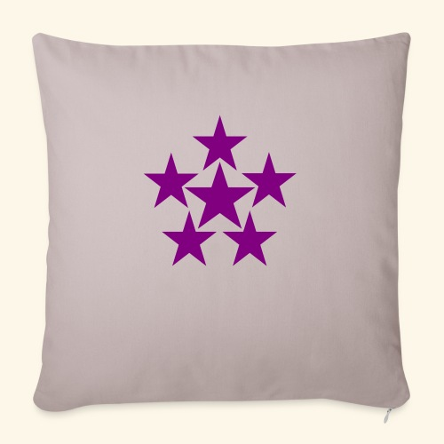 5 STAR lilla - Sofakissenbezug 44 x 44 cm