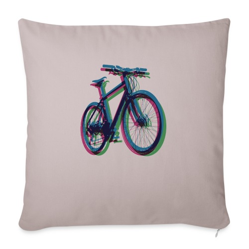 Bike Fahrrad bicycle Outdoor Fun Mountainbike - Sofa pillowcase 17,3'' x 17,3'' (45 x 45 cm)