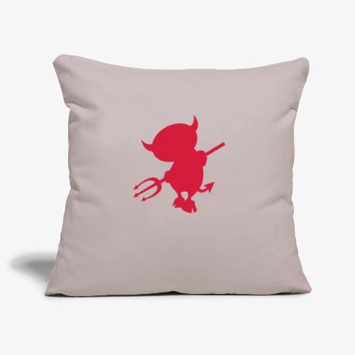 devil - Housse de coussin décorative 45x 45cm