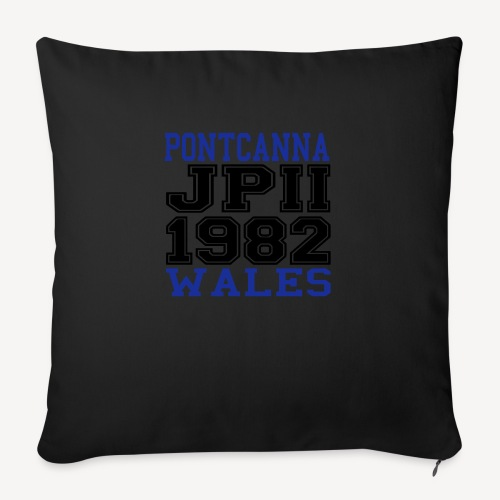 PONTCANNA 1982 - Sofa pillowcase 17,3'' x 17,3'' (45 x 45 cm)