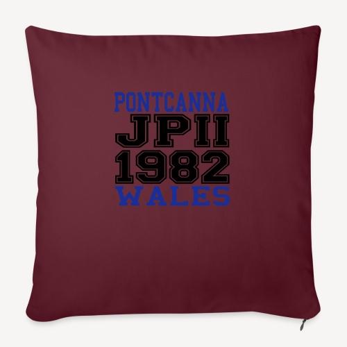 PONTCANNA 1982 - Sofa pillowcase 17,3'' x 17,3'' (45 x 45 cm)